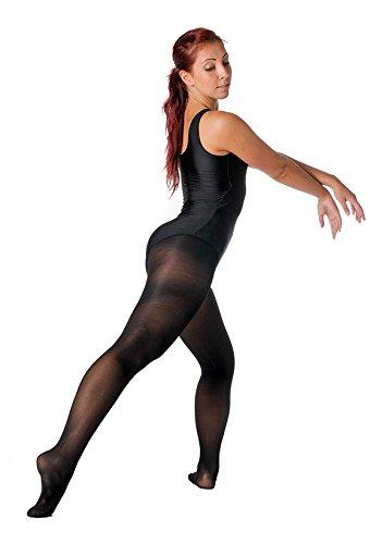 Ballett Strumpshose Economy Ballett Hose Tanzhose Gr 140 schwarz