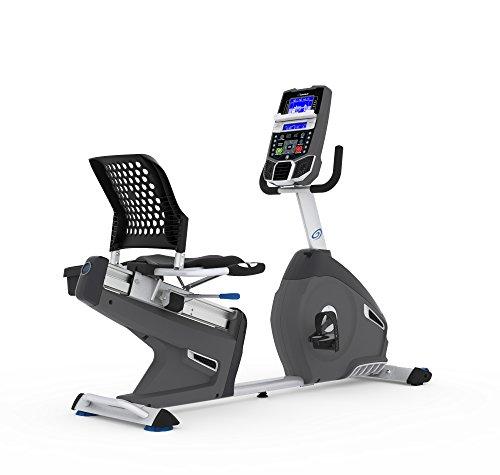 Nautilus R626 - Bicicleta Estática Reclinada, Bluetooth, MP3-sensor táctil y Monitor de frecuencia cardíaca Incluido