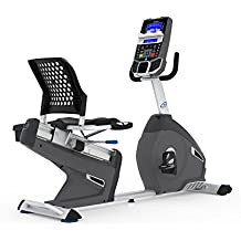 Nautilus R626 - Bicicleta Estática Reclinada, Bluetooth, MP3-sensor táctil y Monitor de