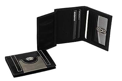 Mini Portefeuille homme vertical JUVENTUS - ENZO CASTELLANO noir en cuir A4090