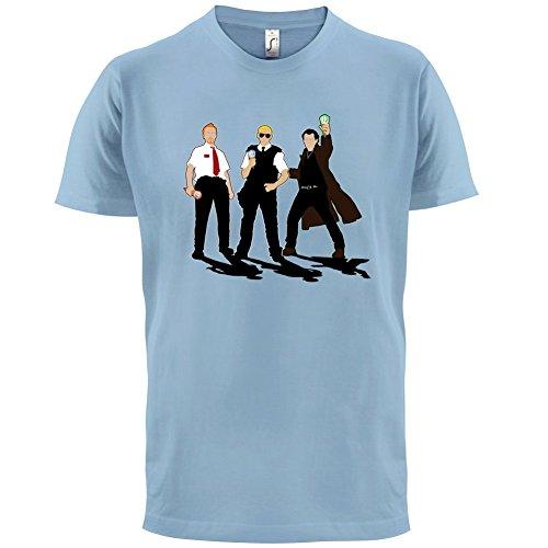 Eiscreme Trilogie - Herren T-Shirt - 13 Farben Himmelblau