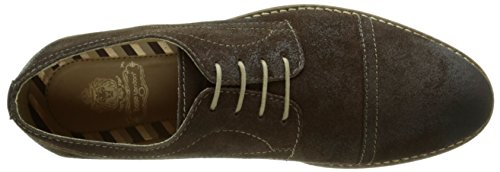 Base London Concoct, Chaussures Lacées Homme Marron (Greasy Brown)