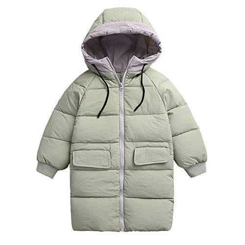 Children Girl Boys Baby Winter Warm Coats Jacket Zipper Thick Hoodie Outerwear