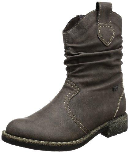 Rieker 74684-45, Boots femme Gris (Gris-TR-H1-24)