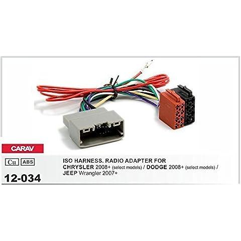 CARAV 12-034 Autoradio ISO Cavo adattatore per CHRYSLER- DODGE- JEEP Wrangler