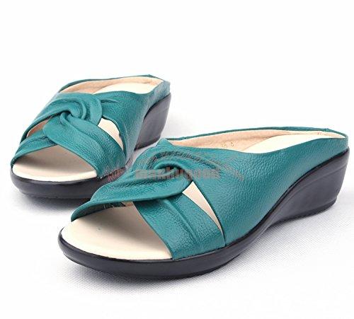ZPPZZP Ms sandali pantofole estate confortevole crossover pendenza con 38EU