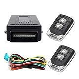 MASO Auto-Alarmanlage Universal Auto Fernbedienung Zentralverriegelungs-Kit Schlüsselloses Einstiegs-Sicherheitssystem mit 2 Anhängern