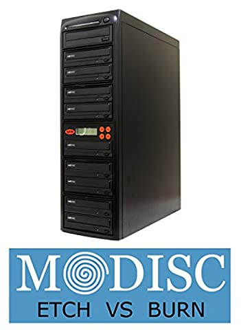 Systor 1 mit 9 M-Disc Multi-Brenner CD / DVD 24X Kopierstation Tower