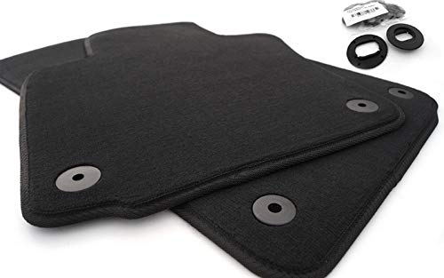 Fußmatten Passat 3C B6 B7 (Velour) Set Automatten Original Qualität 2-teilig