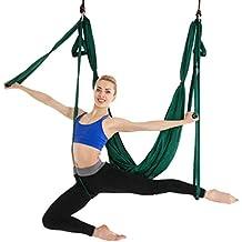 ZKOOO Hamaca de Yoga de Nailon Hamaca Correa Volar para Yoga Pilates Aérea  Teniendo 200KG 397964ecc7f6