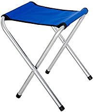 LUMONY New Lightweight Foldable Laptop for Camping Stools Fishing Chair Picnic Beach Bath Barbecue (Multi Color-1 PC)