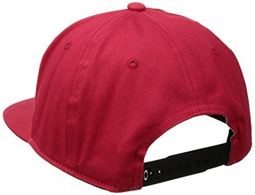 Oakley Unisex Cap Sliver 110 Flexfit Hat Red Line