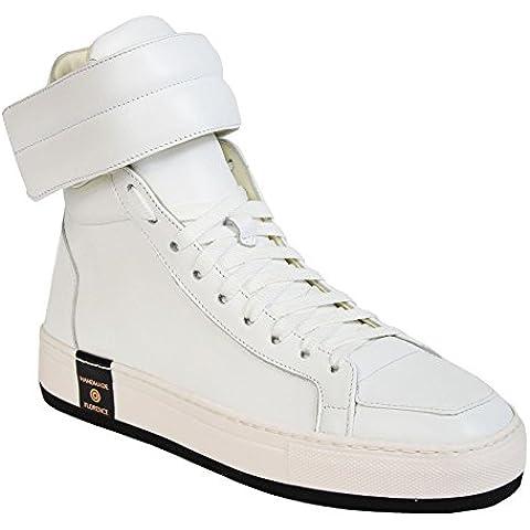 Le Village Scarpe Sneakers Alte fatte a mano in pelle