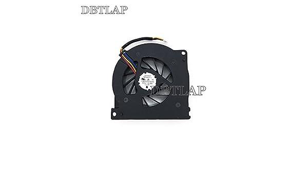 DBTLAP Laptop CPU Fan Compatible for ASUS A72 A72J A72F K72 K72F K72JR N71JQ KSB06105HB 0.4A Cooler Fan