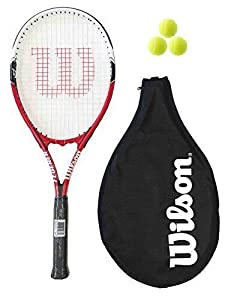 Wilson Federer Adult Tennis Racket + 3 Balls RRP £60 Review 2018