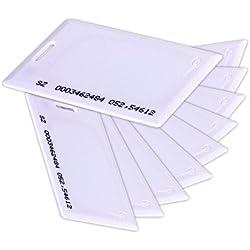Tarjeta de RFID, zoter sin contacto de proximidad Smart ID 125Khz EM4100entrada puerta 1,8mm