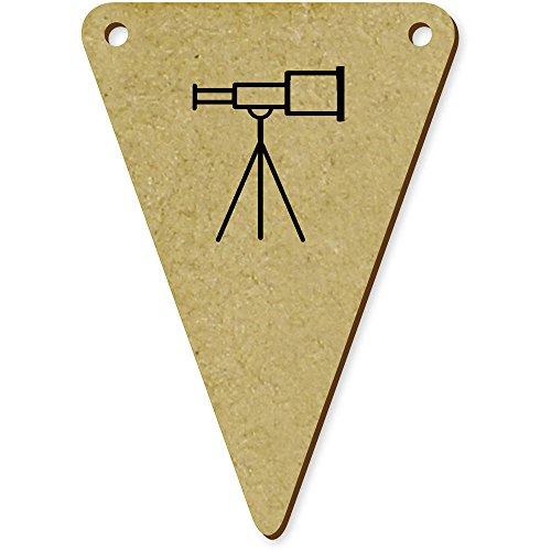 Azeeda 5 x 70mm 'Telescopio' Banderines / Banderas