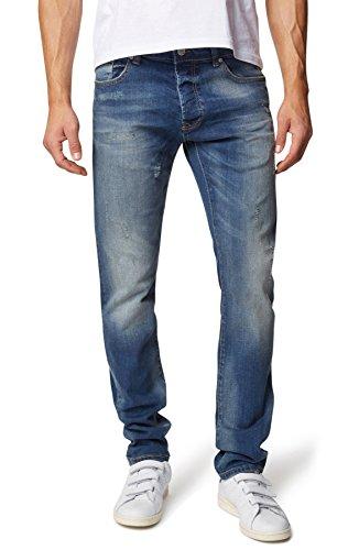 WOTEGA Herren Jeans Negan slim fit blue denim (683)