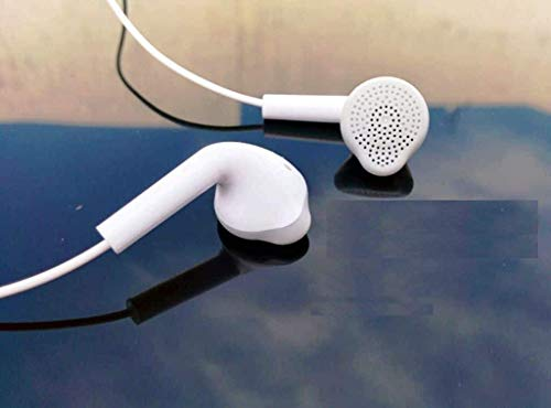 Agarson Latest Compatible Samsung YS Earphone/ Handsfree 3.5 mm Jack Super Bass Stereo for Comfortable for Samsung Galaxy J2 Ace