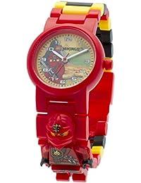 LEGO Unisex-Armbanduhr Ninjago Jungle Kai Analog Quarz Plastik 8020134