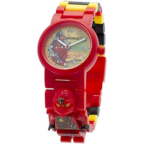 LEGO Ninjago 8020134 - Reloj Jungle Kai minifigure Link