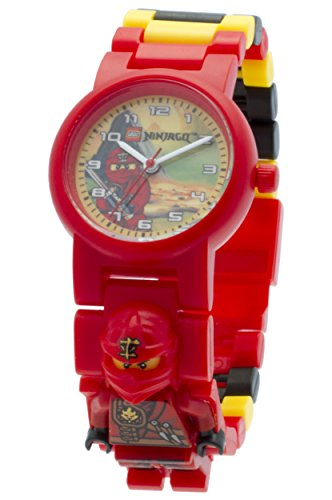 Lego-Ninjago-Jungle-Kai-Childrens-Quartz-Watch-with-Multicolour-Dial-Analogue-Display-and-Multicolour-Plastic-Strap-8020134