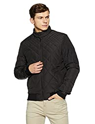 Arrow New York Mens Regular Fit Jacket (8907259328706_AJQY9408_Large_Black_Large_Black)