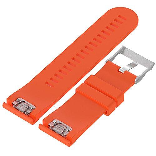 Yallylunn Replacement Silicagel Quick Install Band Strap Kann Mit Einem Rock Getragen Werden for Garmin Fenix 5X GPS Watch