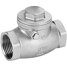 Akozon Válvula de retención de giro DN25 1