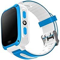 Tiowea Smart Watch Téléphone SIM Appel Anti-Perdu SOS Tracker Sport Running GPS