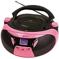 RADIO CD MP3 NEVIR NVR475U ROSA