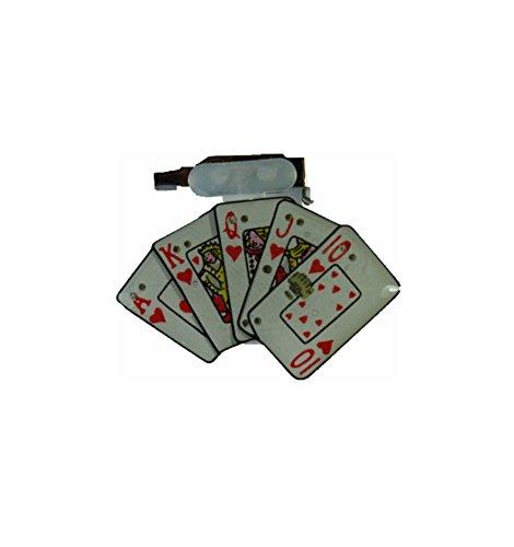 - mit blinkenden LEDs, Casino Skat Poker Las Vegas Zocken Zocker (Las Vegas-led)
