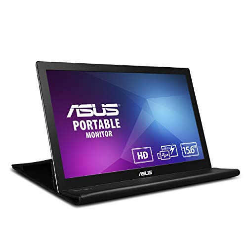 "Asus MB168B - Ecran PC Portable 15,6"" - Alimentation et Affichage via USB Type-A - Dalle TN - 1366 x 768 - PS4 Raspberry Pi Xbox - 200cd/m²"