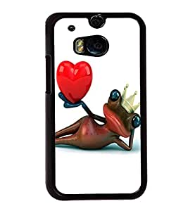 printtech Frog Heart King Crown Back Case Cover for Huawei Honor 7