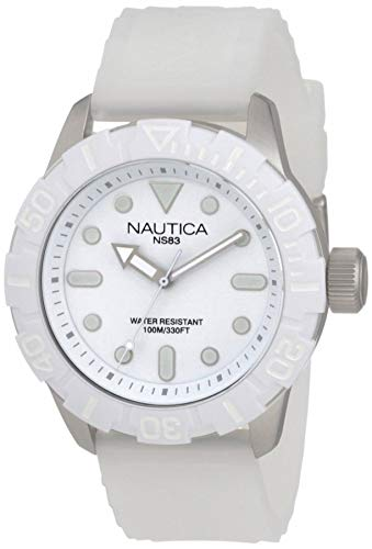 NAUTICA NSR 100 A09603G fashionable 10 ATM unisex diver's watch
