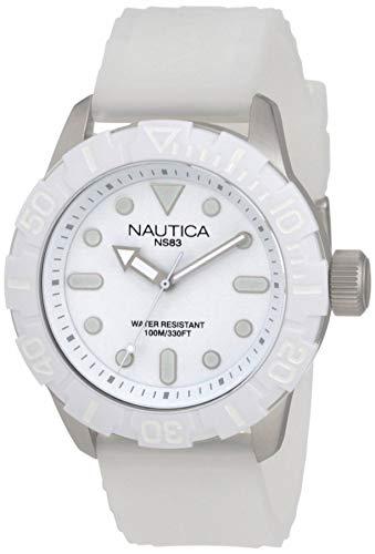 NAUTICA NSR 100 A09603G fashionable 10 ATM unisex diver's watch