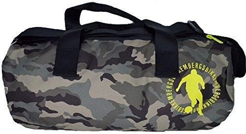 Borsa Borsone Zaino Uomo Donna Bikkembergs Bag BackPack Men Woman Small Round Duffle Camouflage D3108