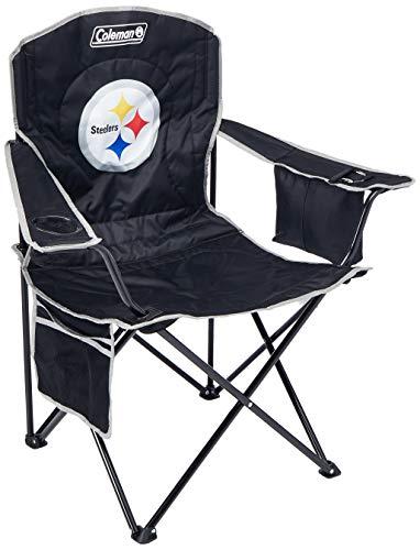 Caseys Pittsburgh Steelers XL Kühler Quad Stuhl (Maus-pad-basketball)