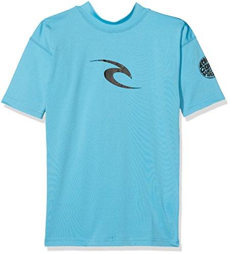RIP CURL Jungen WLY5DB T-Shirt, blau, 8Y/130cm