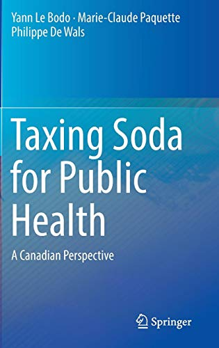 Taxing Soda for Public Health: A Canadian Perspective