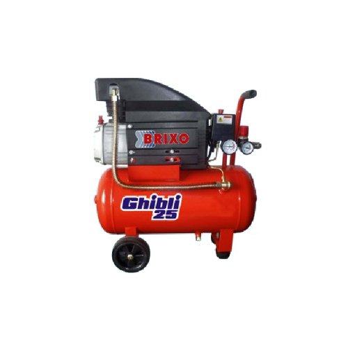 Compressore Brixo da 25 lt automatico per lavori di fai da te...
