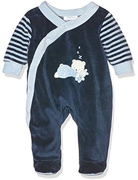 Twins Baby-Jungen Schlafstrampler mit Bärchen Print