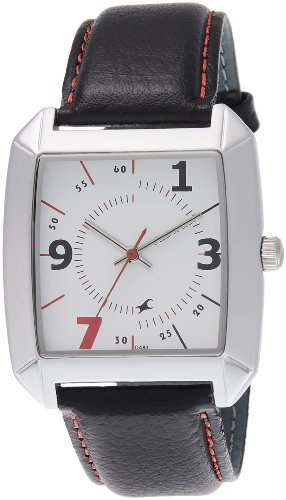 Fastrack OTS Core Analog White Dial Men's Watch - NE9336SL01J image