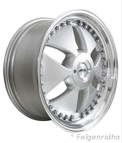 GnB Design Cj1 crownjewel Alufelge in Silber mit TÜV 11jx20 5x112 ET:32 ML:66.6 Traglast:725kg