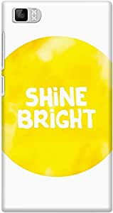 DailyObjects Stay Bright Mobile Case For Xiaomi Mi3