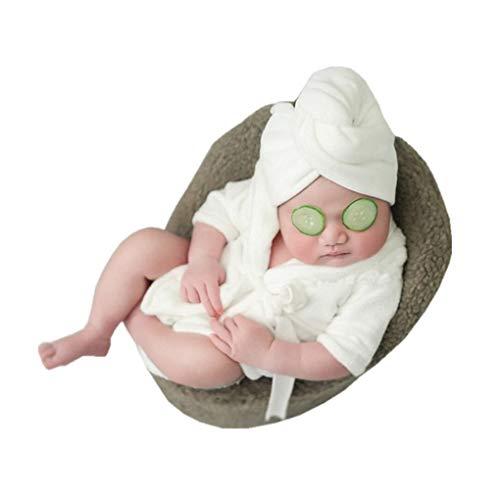 Kostüm Altes Monate Zwei - Forbestest Neugeborenes Baby-Foto-Props Kostüm Jungen Mädchen Bademantel Badetuch Decke Fotosession