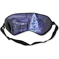 Eye Mask Eyeshade Christmas Light Tree Sleep Mask Blindfold Eyepatch Adjustable Head Strap preisvergleich bei billige-tabletten.eu