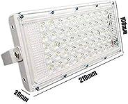 Urban King® 50W foxsun Ultra Thin Slim IP65 LED Flood Outdoor Cool Day Light White Waterproof (50 watt)