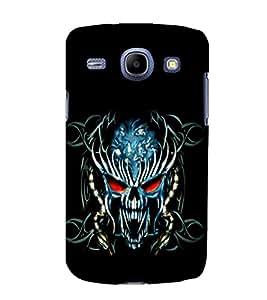 printtech Danger Skull Design Back Case Cover for Samsung Galaxy E7 / Samsung Galaxy E7 E700F