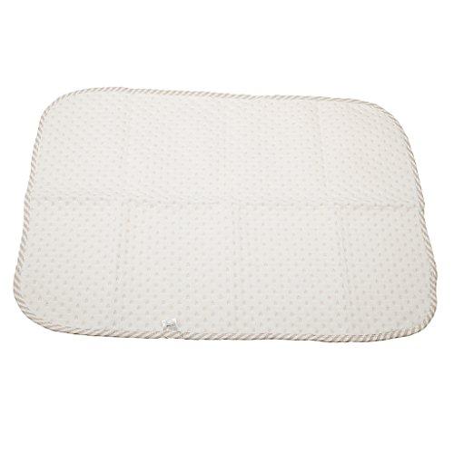 MagiDeal Weiche Wickelunterlage, Baby Wickeltischauflage Baumwolle, 35*45cm/50*70cm - Braun, M